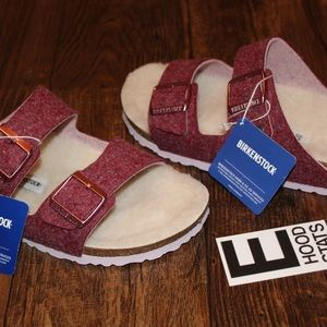 Birkenstock Arizona Rivet Port Sandals Wom Size 10